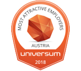 """Most attractive Employer"" 2018"